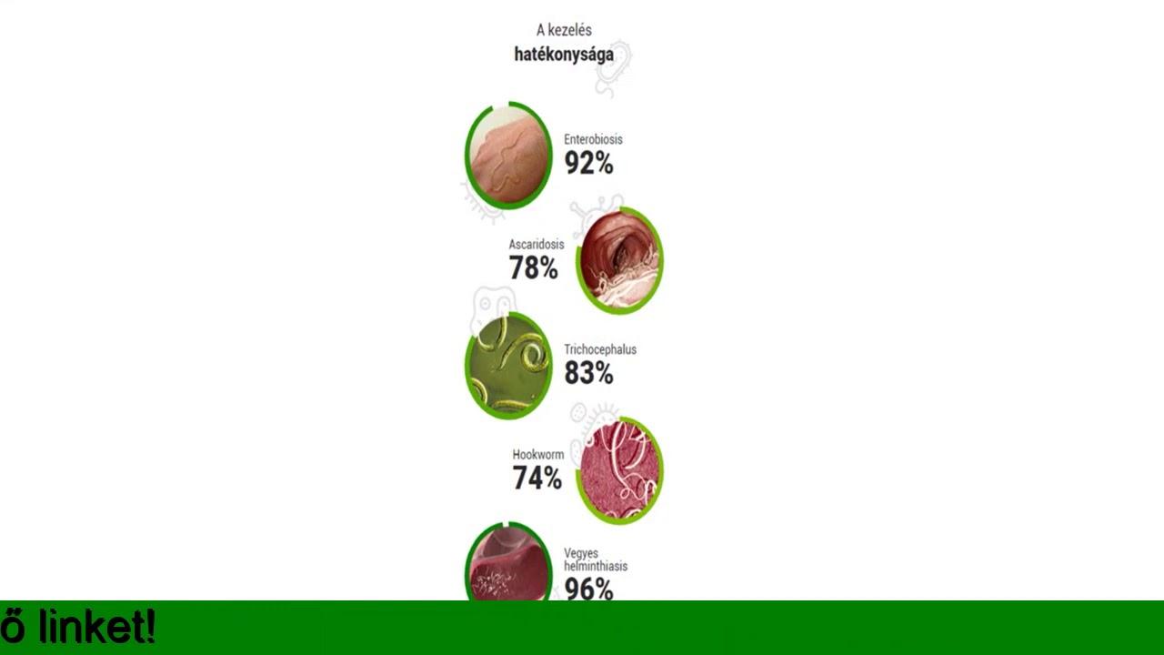 annál jobb az enterobiosis kezelésére)