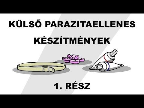 paraziták tisztítása)