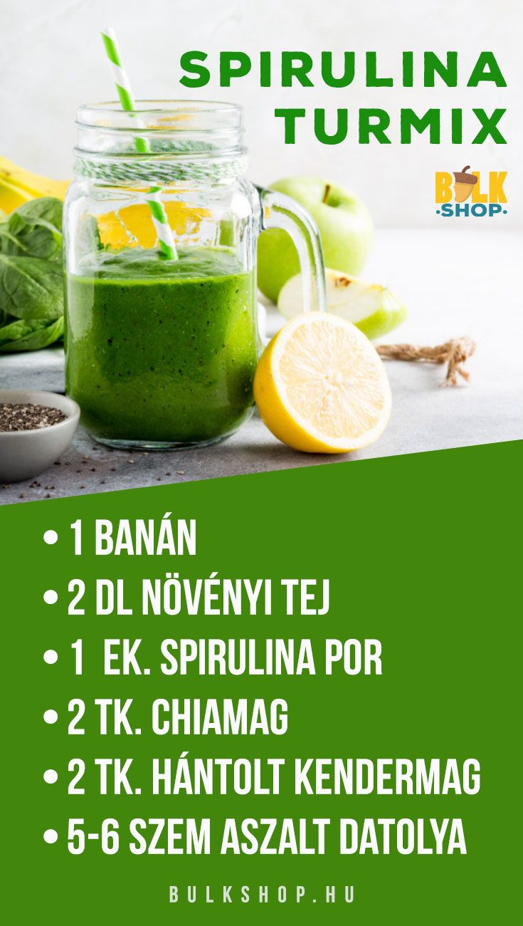 méregtelenítő turmix receptek)