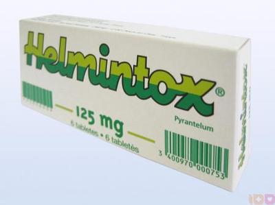 helmintox recept