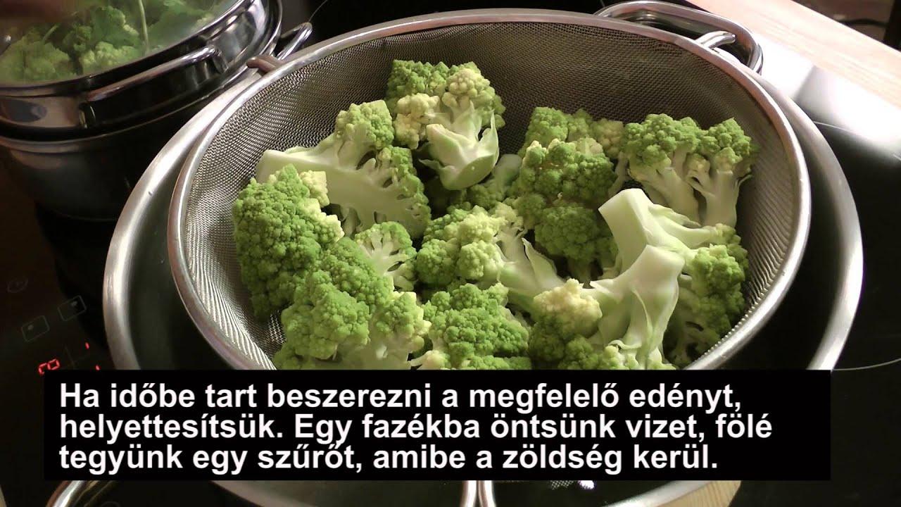 A brokkoli javítja a kapott helmintákat)