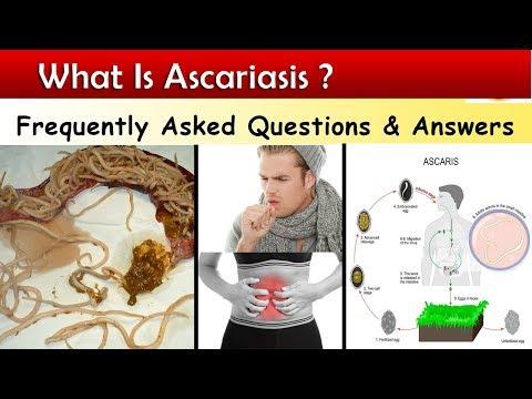 Aszcariasis kezelés felnőtt tablettákban