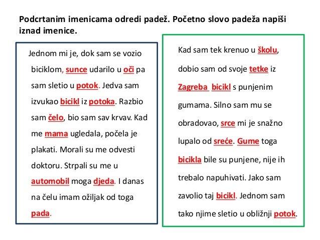 hrvatski padezi vjezbe)
