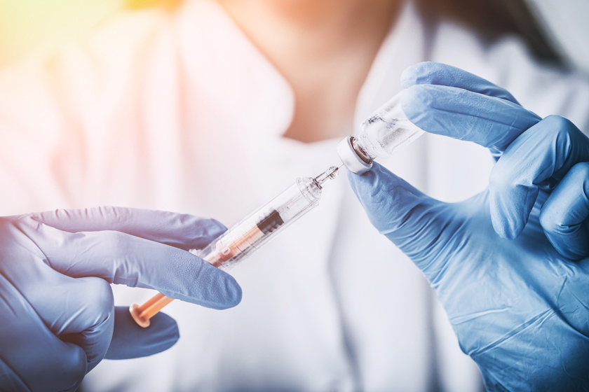 papillomavírus elleni vakcina emberben)