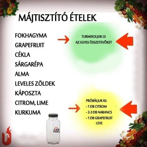 májtisztító ételek a helminthiasis profilaktikus kezelése