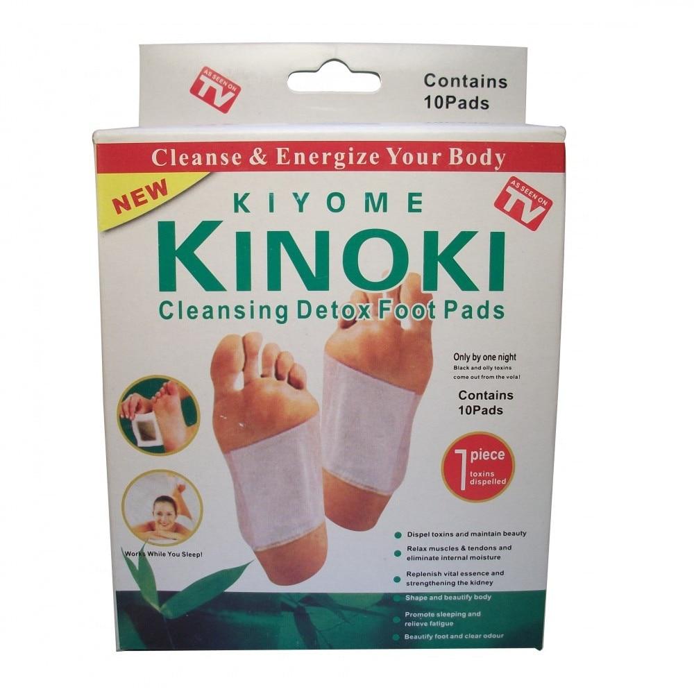Kinoki Méregtelenítő tapasz 10 csomag / 100 db