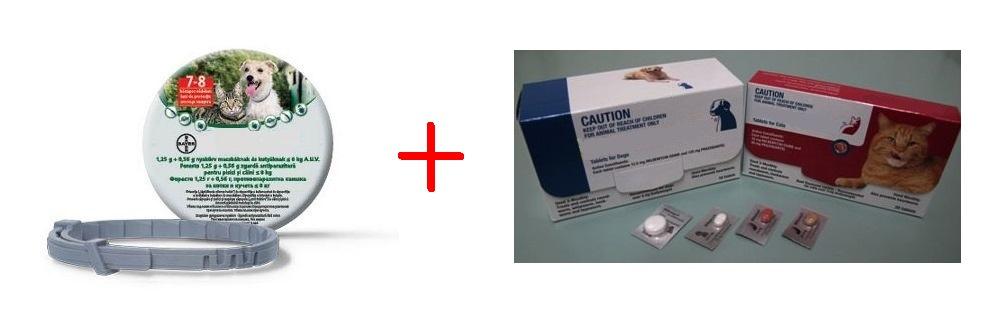 szívférgességi tabletták lennének)