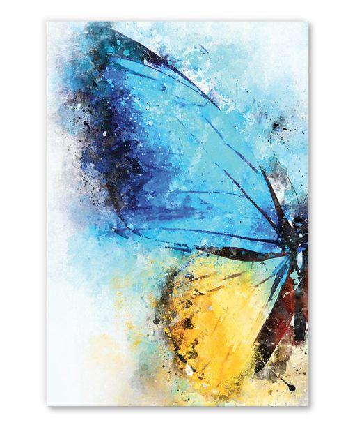 Sticker Grand papillon | Butterfly stencil, Butterfly outline, Butterflies svg