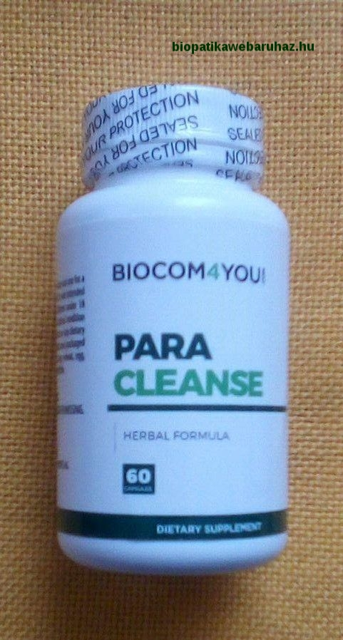 a paraziták otthonról tisztítják a gyógyszereket