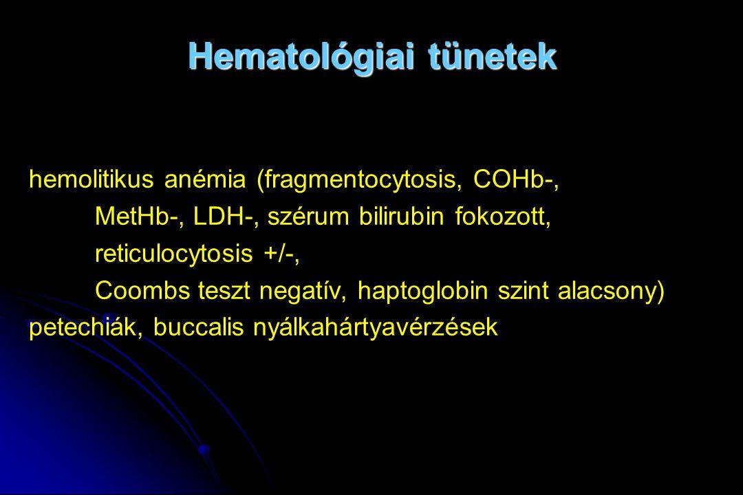 hemolitikus anémia)