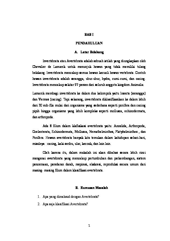 Peranan filum nemathelminthes dalam kehidupan