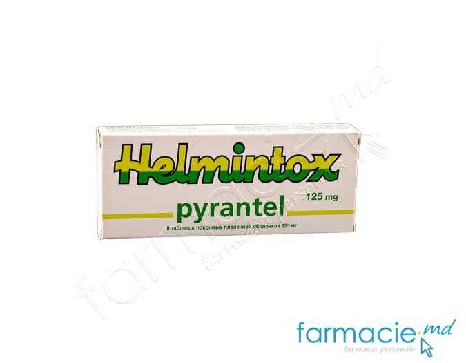 helmintox pirantel 125mg