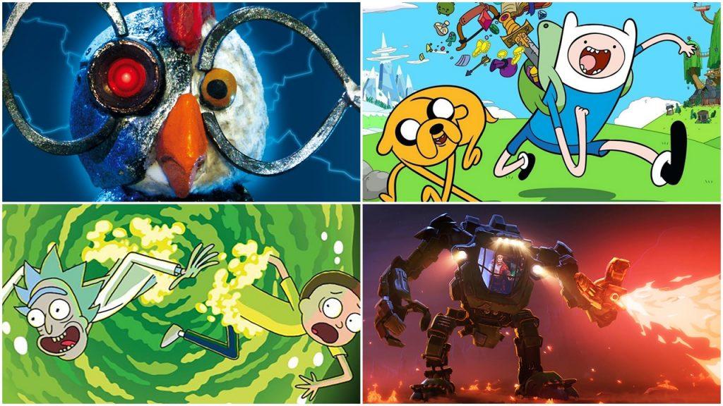 animációs sorozatok parazita tanítása