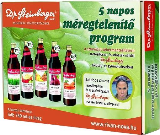 Szülessen újjá mindössze 5 nap alatt a Dr. Steinberger 5 Napos Fitness programmal!