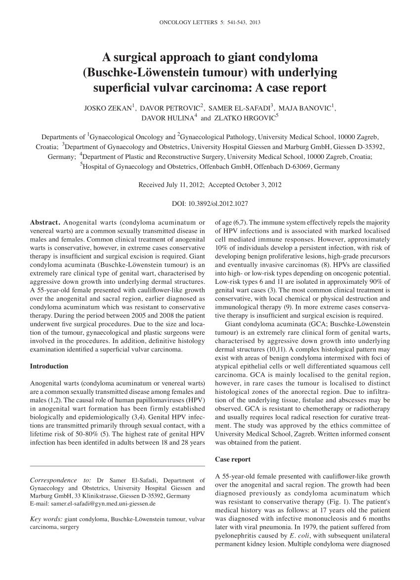 Tájékoztató a condyloma (HPV szemölcs) kezeléséről, eltávolításáról, A condyloma kezelés diagnózisa
