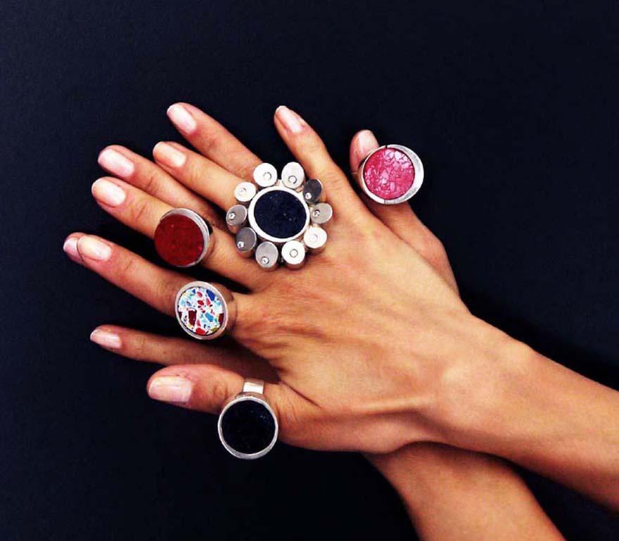 az emberi gyűrű mérete)