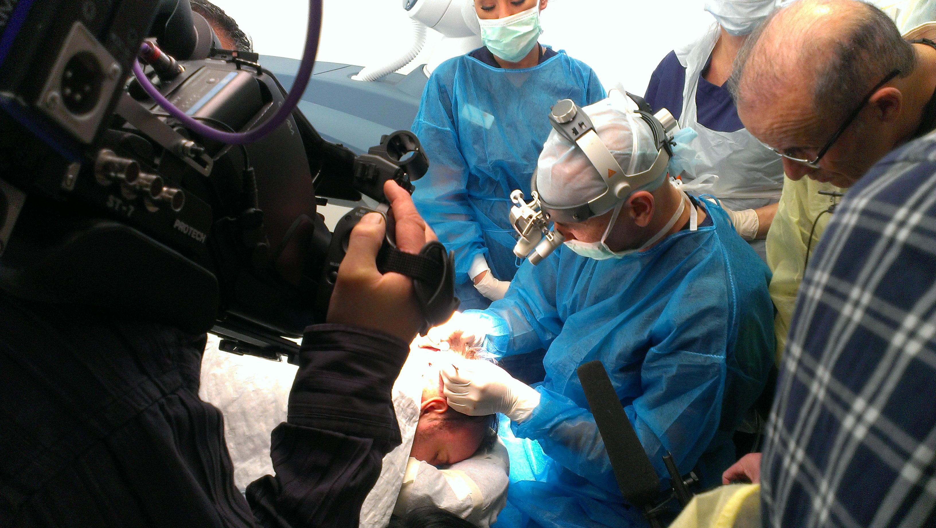 befogadó sebész