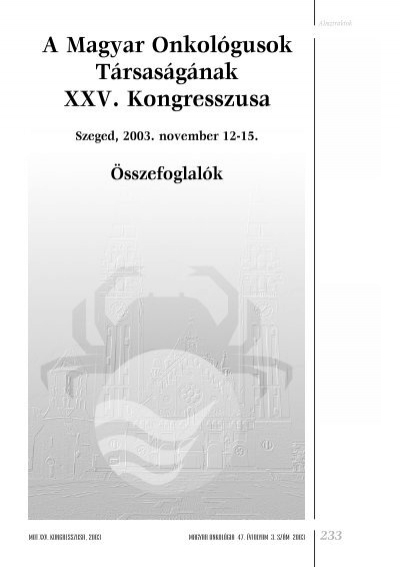 Húgyhólyag daganatok   Hungarian Oncology Network - podkedd.hu