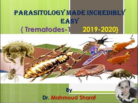 Férgek, kukacok az élő testben Parazita trematode kezelés