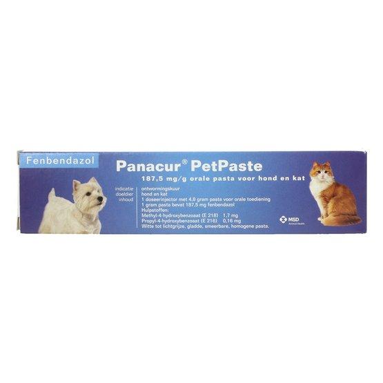 giardia hond panacur)