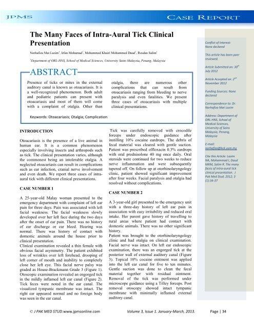 Pinworm eosinophilia. Ostorféreg-fertőzés