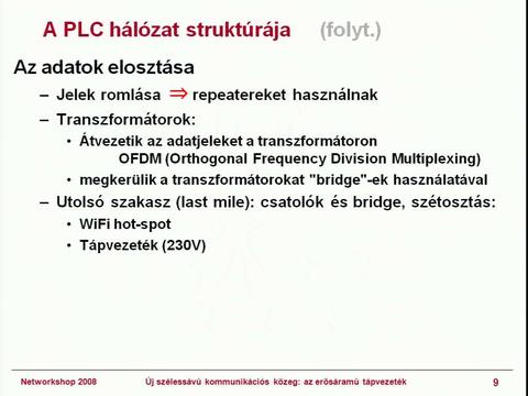 szélessávú szakaszok)