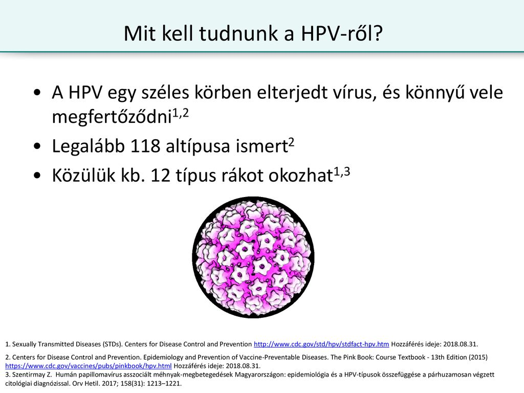 hpv vírus rák std férgek elleni gyógyszer gyermekeknek