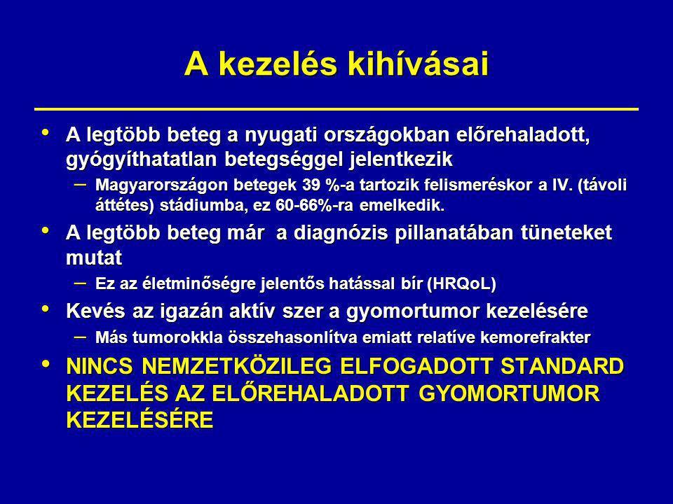 PPT - A gyomorrák onkológiai kezelési lehetőségei PowerPoint Presentation - ID