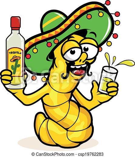 féreg tequila