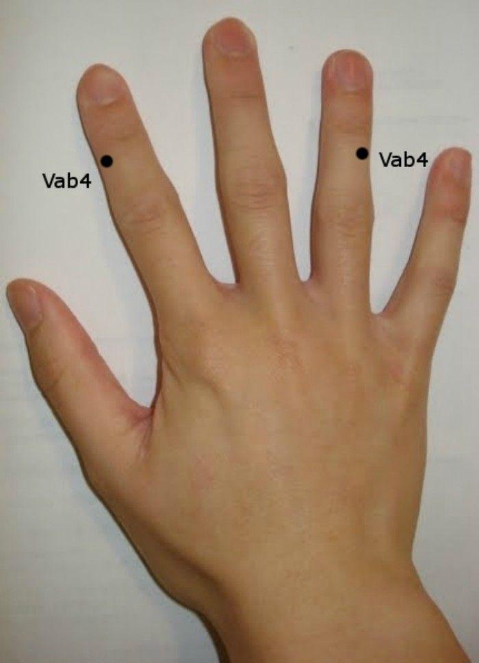 megnedvesedik az ujjak között, mint kezelni