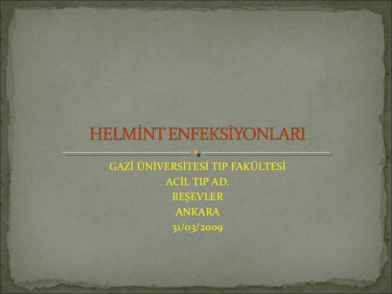 Helmint kezelés a felnőtt klinikákban, Toxikus hatás a helminták előkészítése után