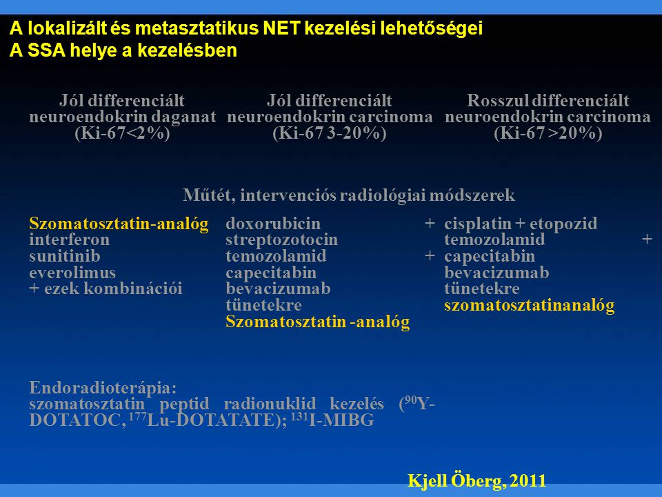 neuroendokrin rák hasmenése
