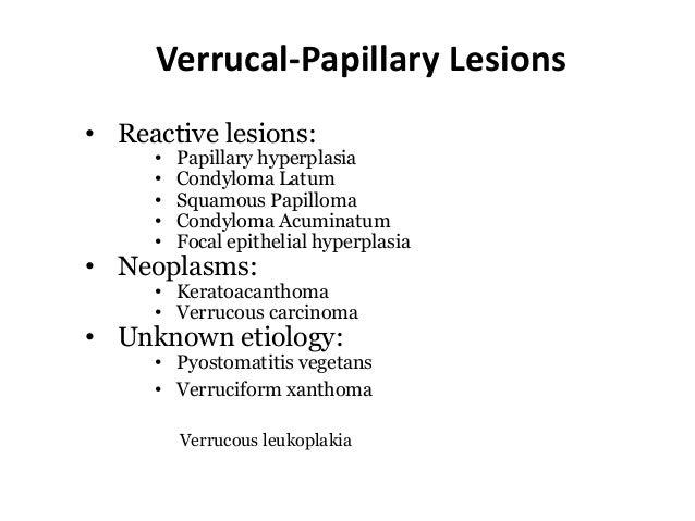 papillomavírus szájkárosodás)