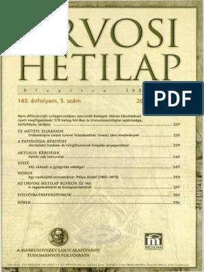 légzési papillomatosis tudományos cikkek)