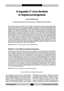 májrák és hepatitis