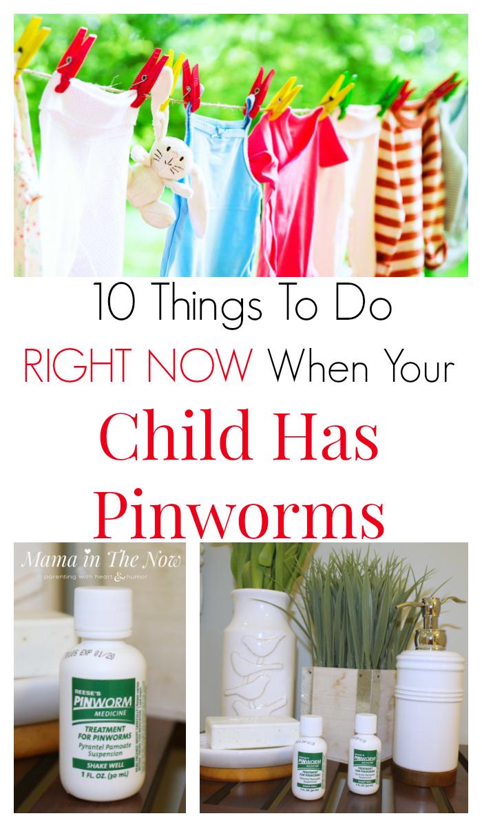 baba pinworms 10 hónap