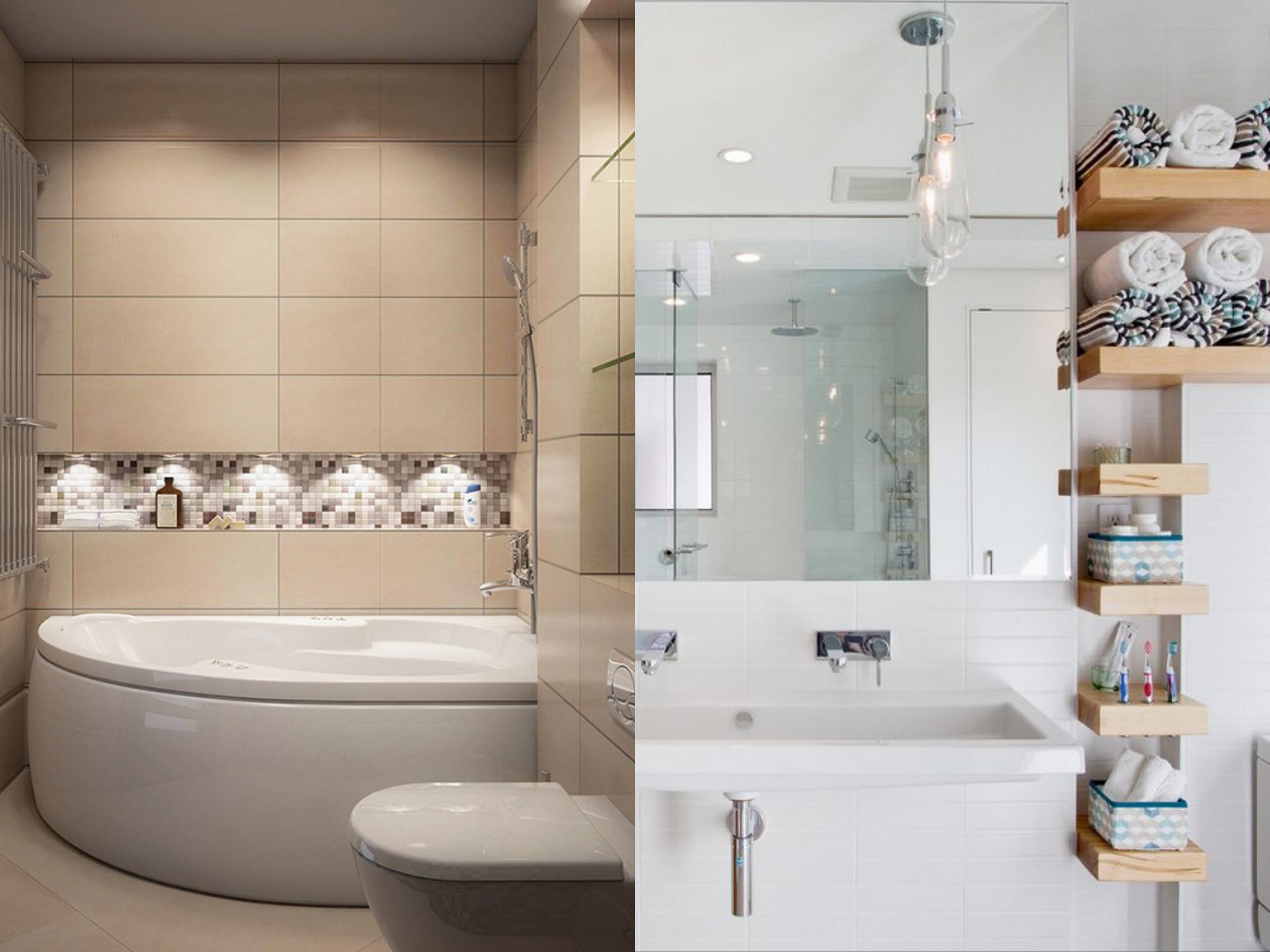 Nagy ötletek kis fürdőszobákhoz
