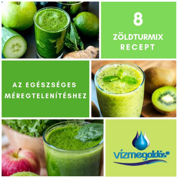 méregtelenítő zöld turmix receptek
